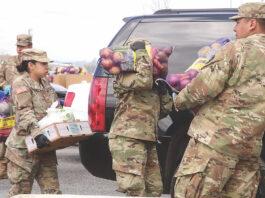 Second Harvest Food Bank food distribution