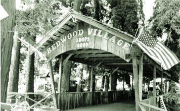 Redwood village