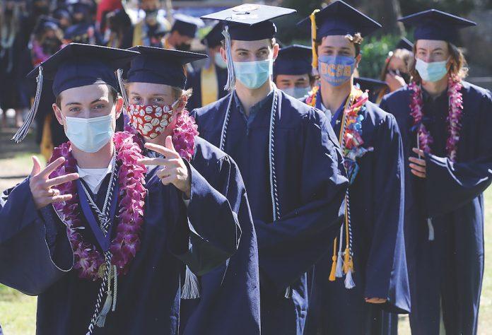 Aptos High school graduation